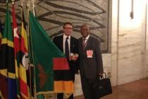 Io e Ministro Robert Sichinga